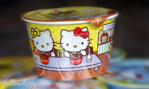 Hello Kitty Mini Cup Noodles Small