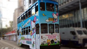 Hello Kitty Eva Air Tram