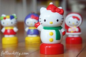 Hello Kitty Fruitips Figurines