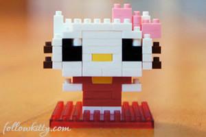 Hello Kitty Nanoblock 2 Small