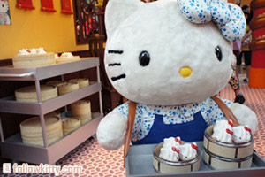 Hong Kong Langham Place Hello Kitty Dim Sum Small