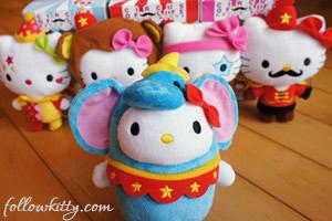 McDonalds Hello Kitty Circus of Life Set Small