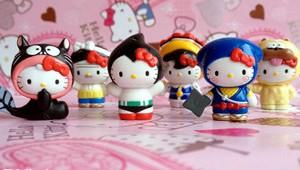 Bandai Narikiri Hello Kitty Collection Small
