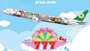 Eva Air Hello Kitty Hand in Hand Small