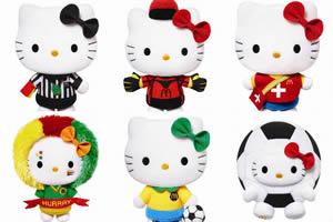 Hello Kitty FIFA World Cup McDonalds Small