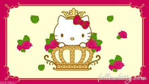Crabtree X Hello Kitty Tea Set Small