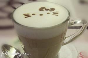 Cafe in Hello Kitty Cafe Taipei