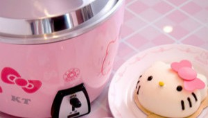 Hello Kitty Pink Rice Cooker