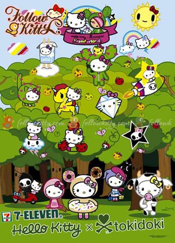 7-11 Tokidoki X Hello Kitty