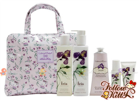 Crabtree & Evelyn Iris X Hello Kitty Set
