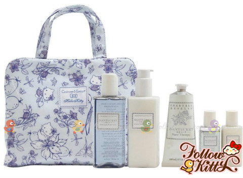 Crabtree & Evelyn Nantucket X Hello Kitty Set