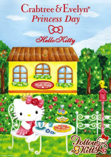 Crabtree & Evelyn Princess Day X Hello Kitty