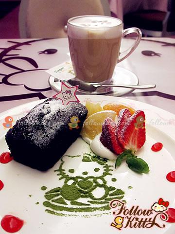 Take a Closer Look of my Kitty Latte Macchiato (Hello Kitty Sweets Café)