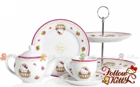 Crabtree & Evelyn Princess Day X Hello Kitty Tea Set