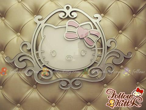 Cute European Style Kitty Princess Logo (Hello Kitty Sweets Café)