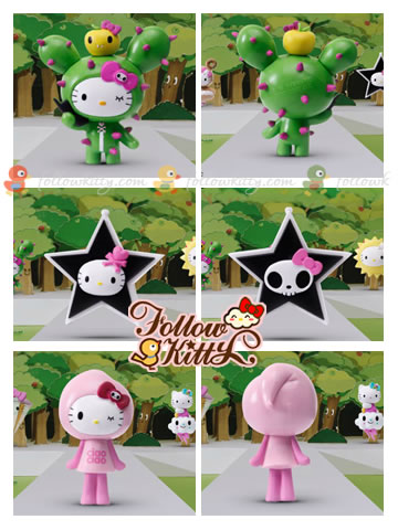 7-Eleven Hello Kitty X tokidoki : Cactus Kitty, Star Kitty, Ciao Kitty