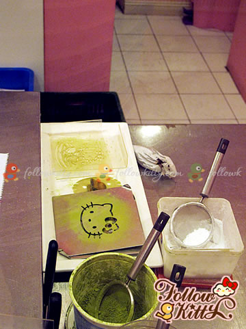 Tools for Decorating Plates (Hello Kitty Sweets Café)