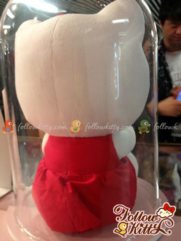 Back of Special Edition of 12-inch Hello Kitty Plush