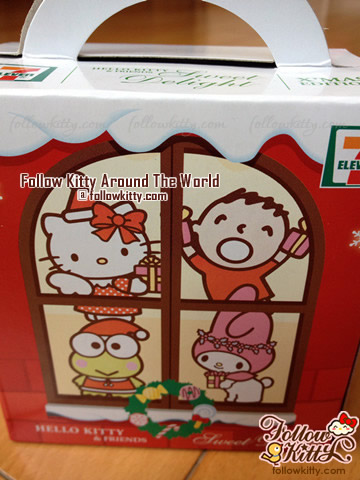 Front of The Box of 7-Eleven Hello Kitty Sweet Delight Xmas Edition