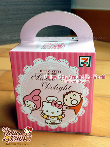 Front of My First Hello Kitty Sweet Delight Box