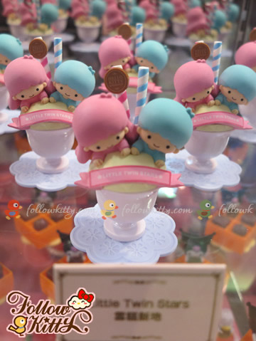The Little Twin Stars in 7-Eleven Hello Kitty & Friends Sweet Delight Display