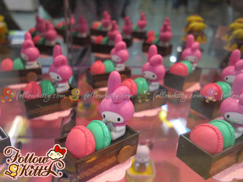 My Melody in 7-Eleven Hello Kitty & Friends Sweet Delight Display