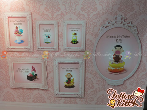 7-11 Hello Kitty & Friends Sweet Delight甜品店的展示