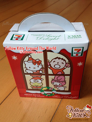 The Box of 7-Eleven Hello Kitty Sweet Delight Xmas Edition