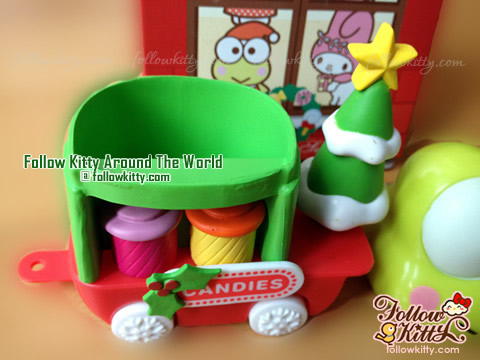 7-Eleven Hello Kitty Sweet Delight Xmas Edition - Kero Kero Keroppi Candy Trolley