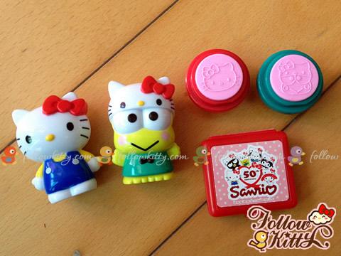 Sanrio 50th Anniversary Stamper Set