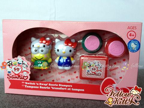 Original Box of Sanrio 50th Anniversary Stamper Set