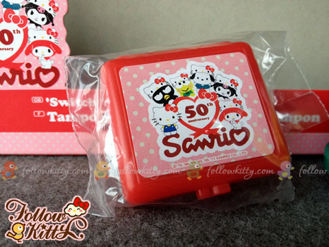 Sanrio 50th Anniversary Stamper Set - Ink