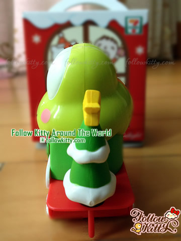 Side of Kero Kero Keroppi Candy Trolley