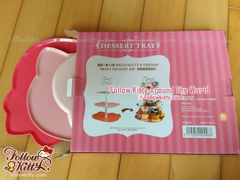 Dessert Tray of 7-Eleven Hello Kitty Sweet Delight