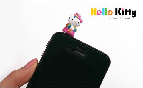 Korean Hanbok-clad Hello Kitty iPhone Plugy
