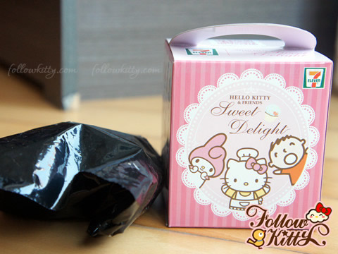 Black Plastic Bag of Hello Kitty Sweet Delight - Candy Set
