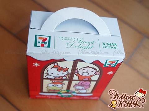 7-11 Hello Kitty Sweet Delight聖誕特別版頂部