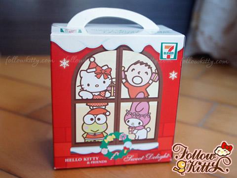 7-11 Hello Kitty Sweet Delight聖誕特別版
