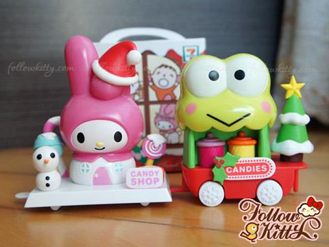 7-11 Hello Kitty Sweet Delight聖誕特別版大聯盟