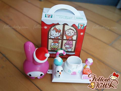 7-11 Hello Kitty Sweet Delight聖誕特別版-My Melody白雪糖果屋