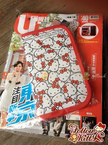 限量版Hello Kitty誕生祭萬用收納包