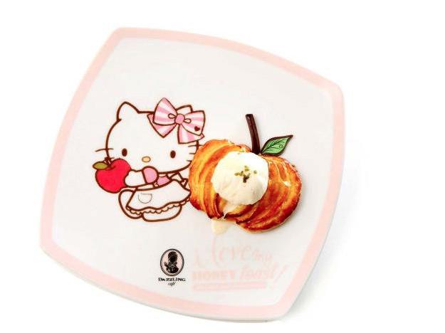 Icecream from Dazzling Café x Hello Kitty