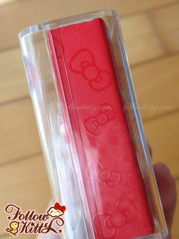 Side of Hello Kitty USB Flash Drive Box
