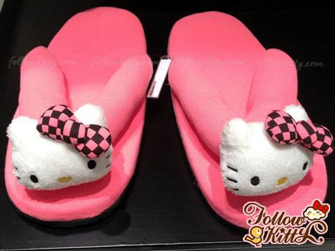 Hong Kong b+ab X Hello Kitty Flip-Flop (Pink)