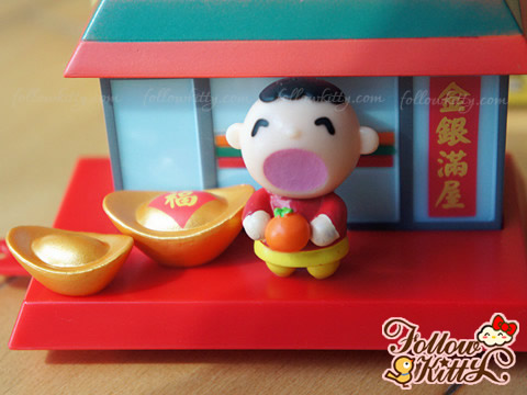 7- 11 Hello Kitty & Friends Sweet Delight Chinese New Year Editions - Minna No Tabo