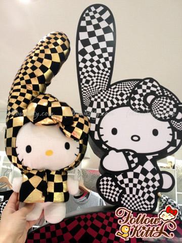 Hong Kong b+ab X Hello Kitty Plush Toy
