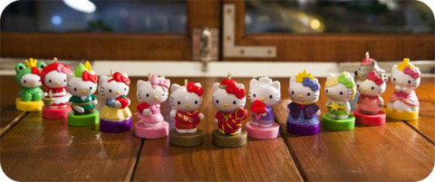 Taiwan 7-Eleven Hello Kitty Fairy Tale Stamper Collections