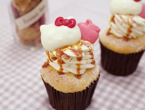 Cloudy x Hello Kitty Cupcakes - Love Apple