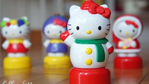 Hello Kitty Fruitips Figurines