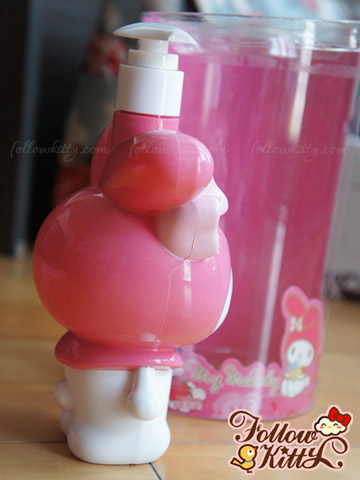My Melody Shower Gel with Figure Dispenser Bottle